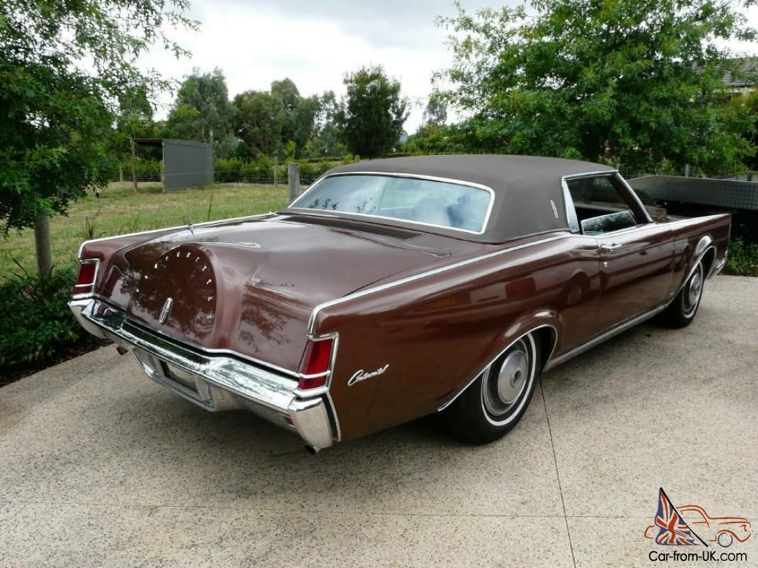 1970 Lincoln Continental MK III the French Connection  classic