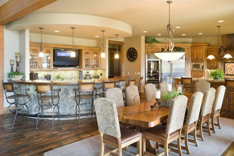 25 Home Plans with Dream Kitchen Designs Custom kitchens, European