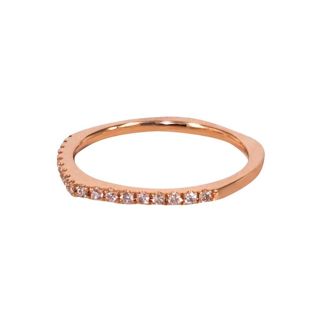 "Diamond ""Quark"" (Rose) Knuckle Ring - Plukka - Fine Jewelry"