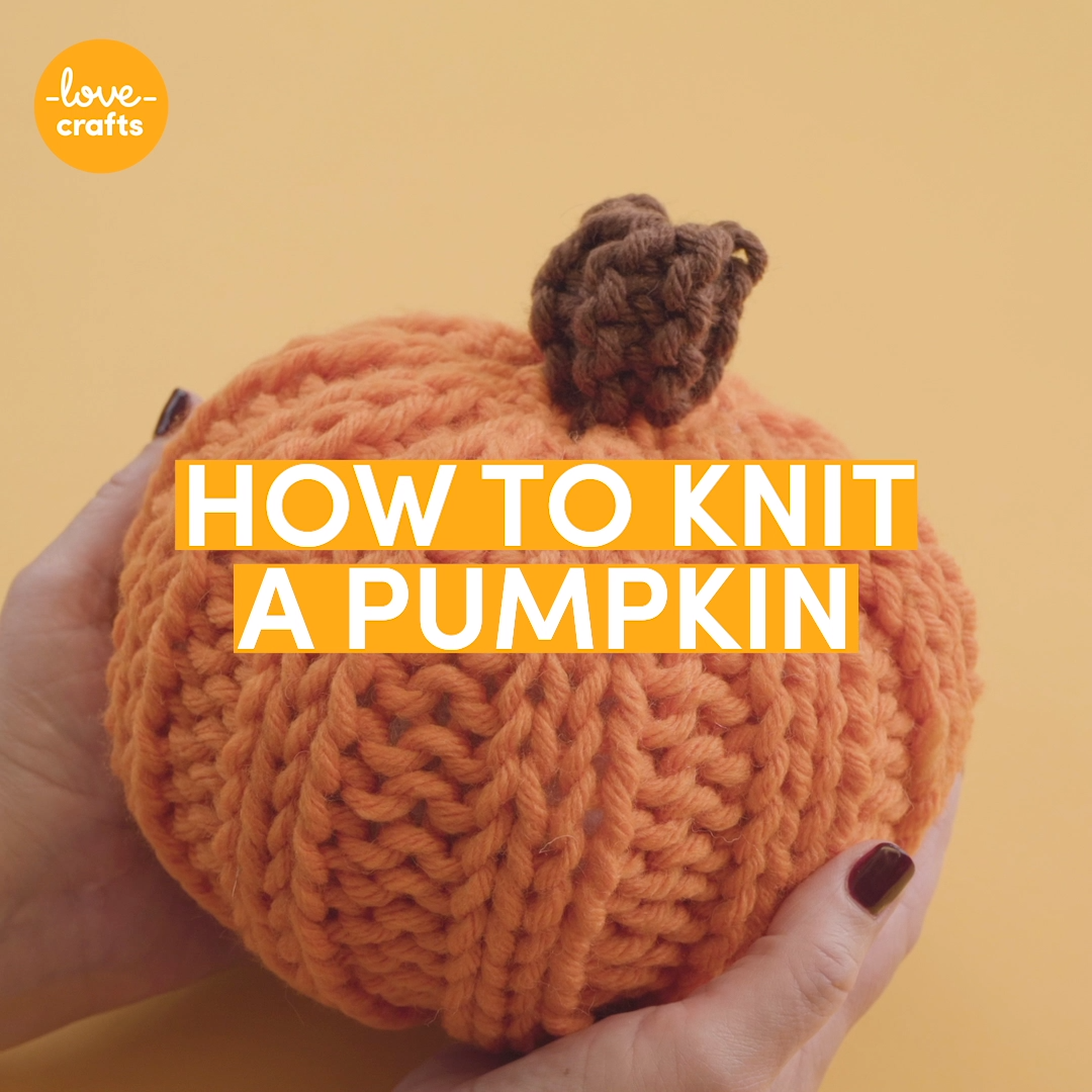 Photo of How to knit a pumpkin tutorial