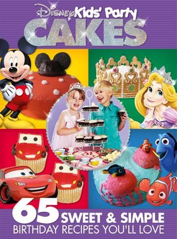 1295 495 postage magshop Disney Kids Party Cakes Book