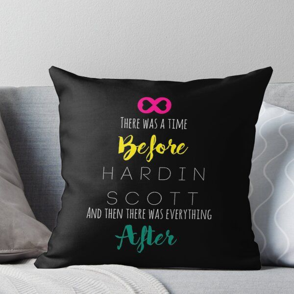 'After - Hardin Scott - Rainbow' Throw Pillow by Coffee With Cream Designs