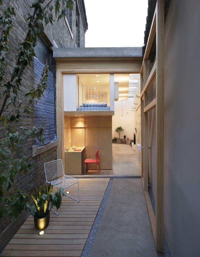 Gallery Of Dengshikou Hutong Residence B L U E Architecture Studio