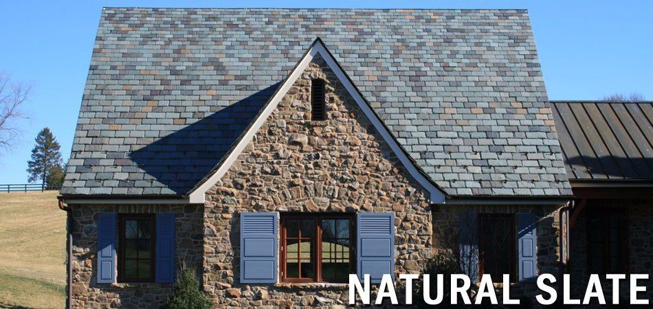 Best Slate Roof Shingles Roofing Materials North Country 400 x 300