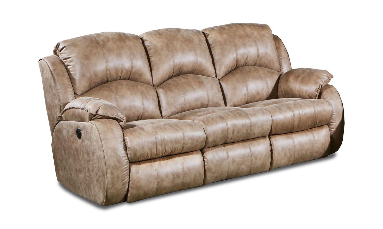 Lacey Dual Power Reclining Sofa Hom Furniture Reclining Sofa