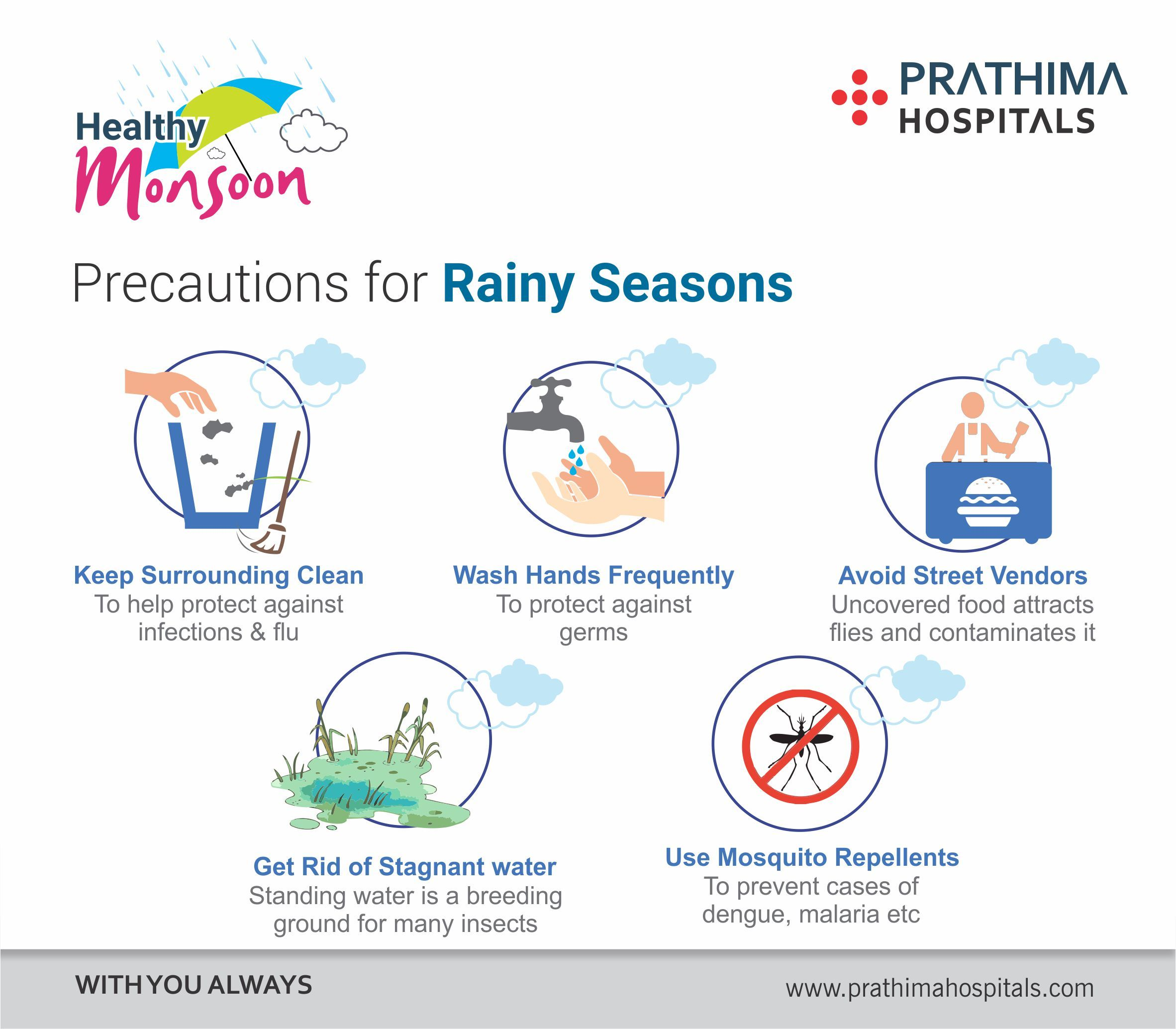 Healthymonsoon Avoid Getting Sick During Rainy Season Have A