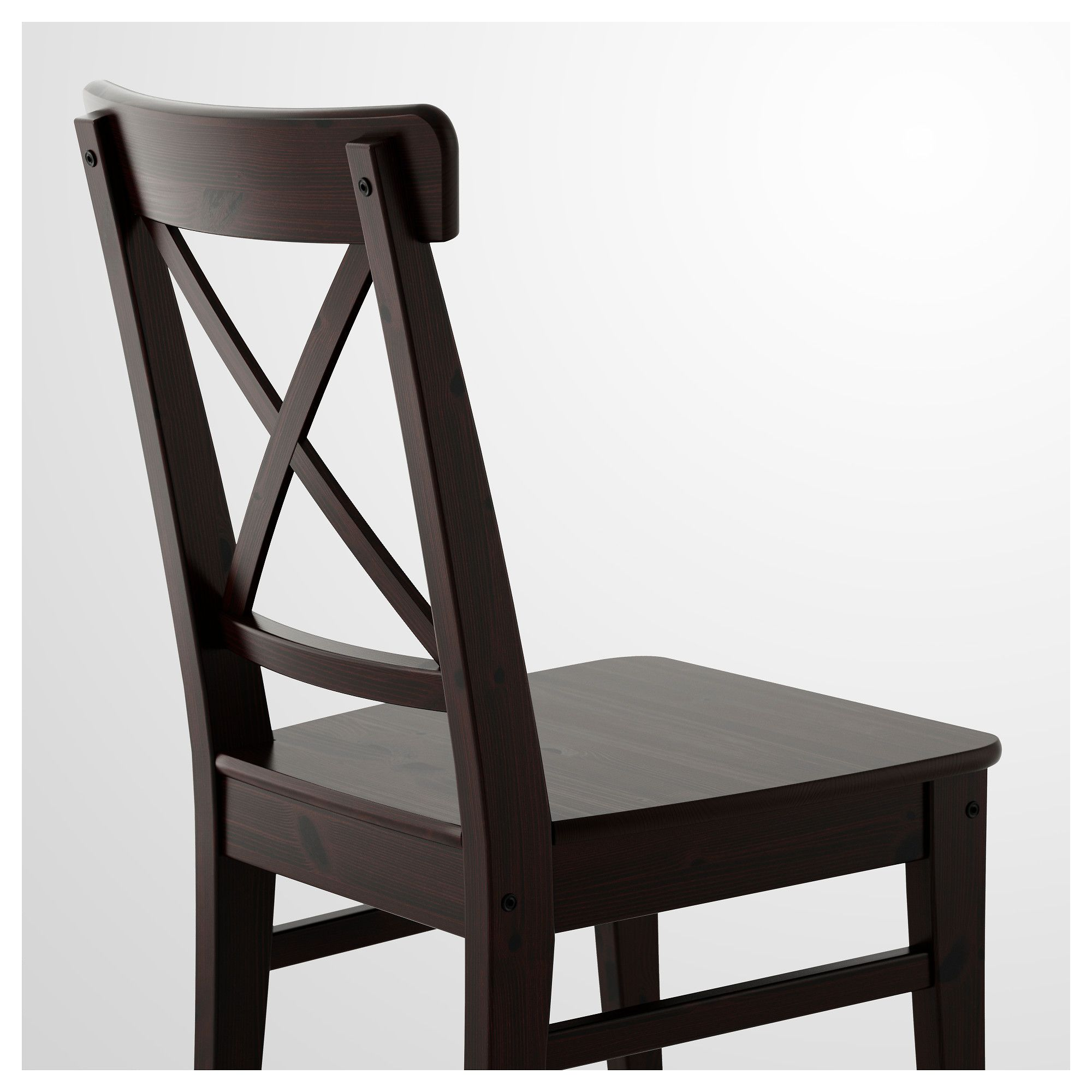 Attrayant IKEA   INGOLF Chair Brown Black