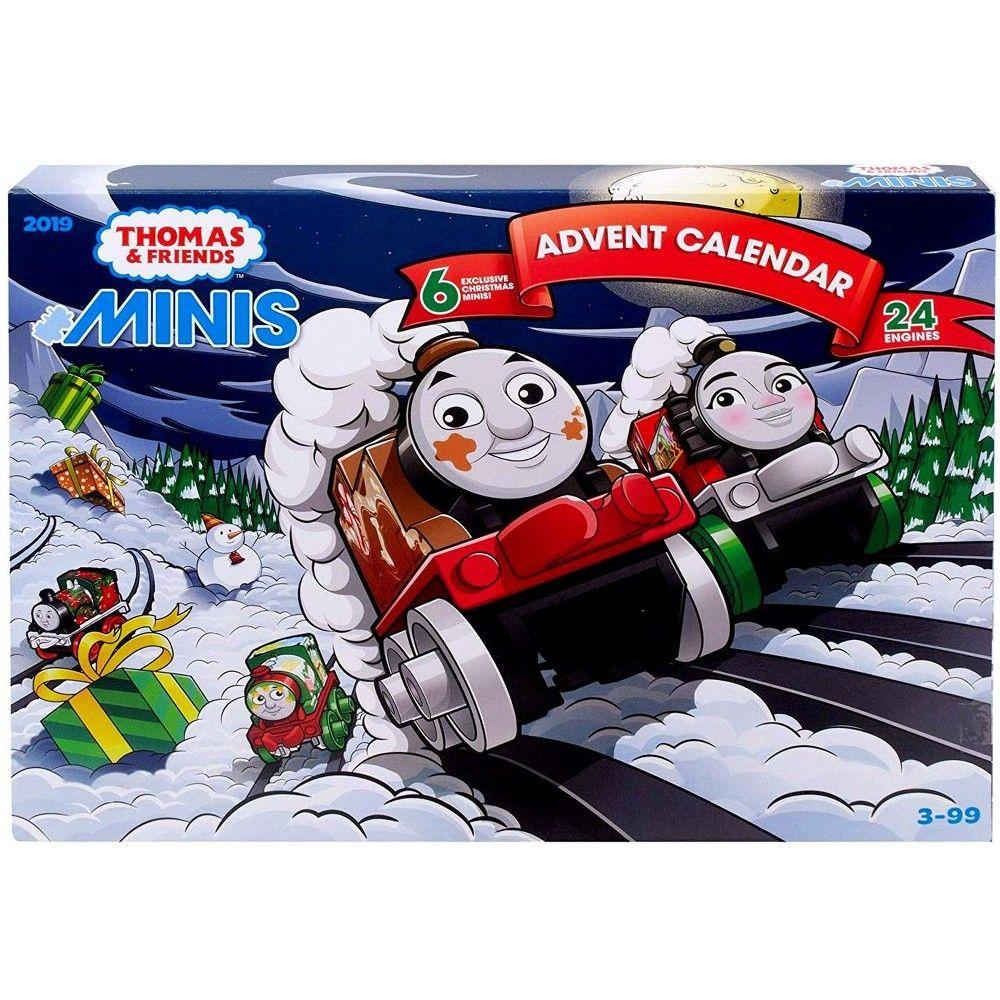 Thomas And Friends Minis 2019 Advent Calendar Set 24 Engines In 2020 Thomas And Friends Thomas Thomas Minis