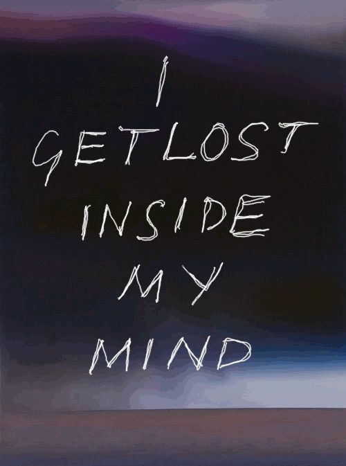 I get lost...