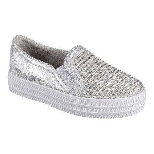 Skechers Double Up Shiny Dancer Slip On Sneaker | Skechers