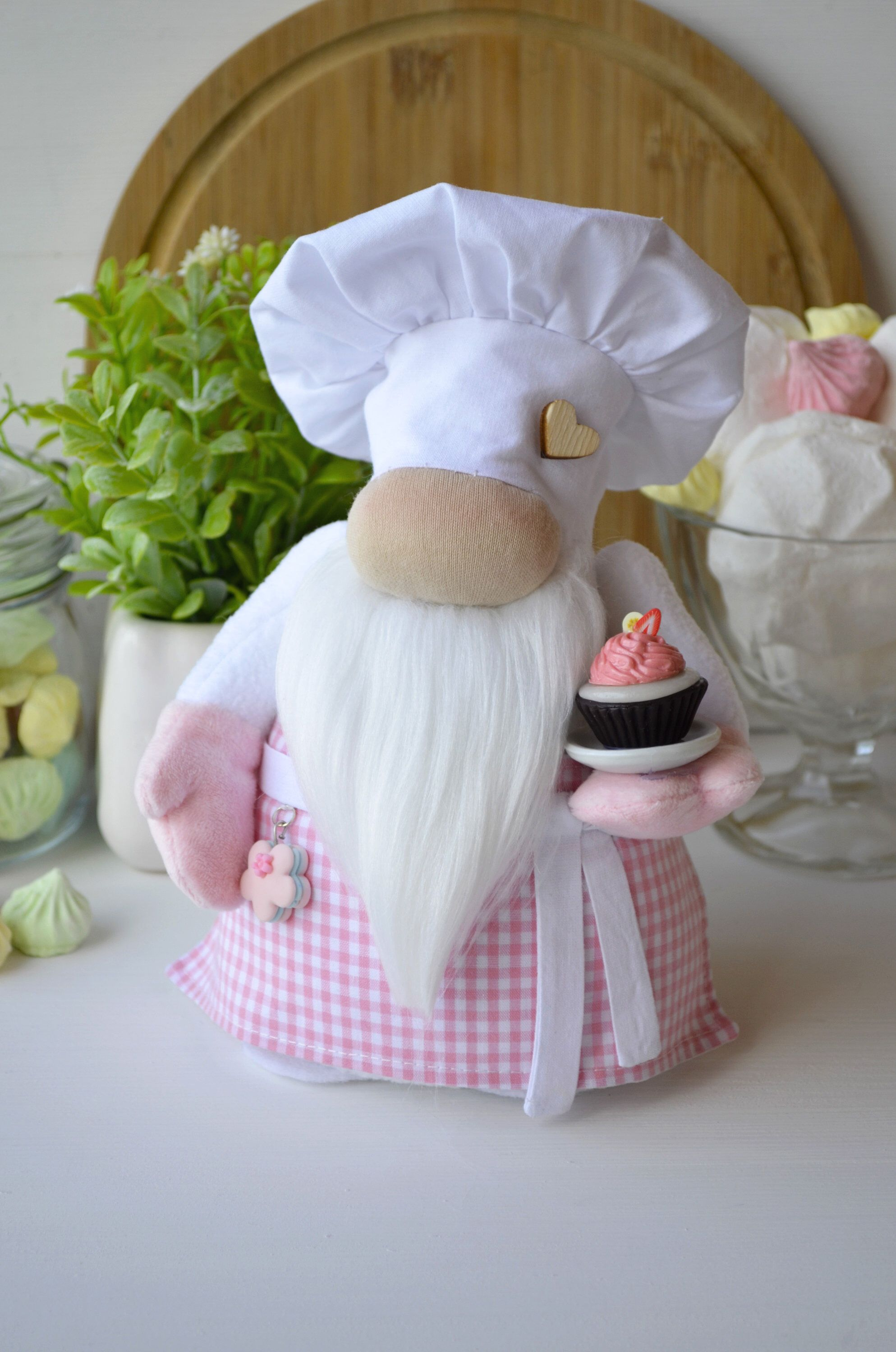 Gifts For Chef Christmas 2021 Kitchen Gnome Confectioner Chef Gnome Mother S Day Gift Etsy In 2021 Christmas Gift For Dad Gnomes Crafts Trending Christmas Gifts
