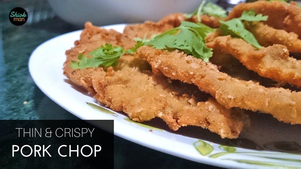 Shiokman Thin and Crispy Garlic Pork Chop | oriental