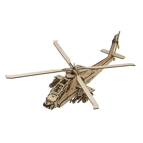 Wooden Model Aircraft Kits Junior Series- Scale models Helicopter