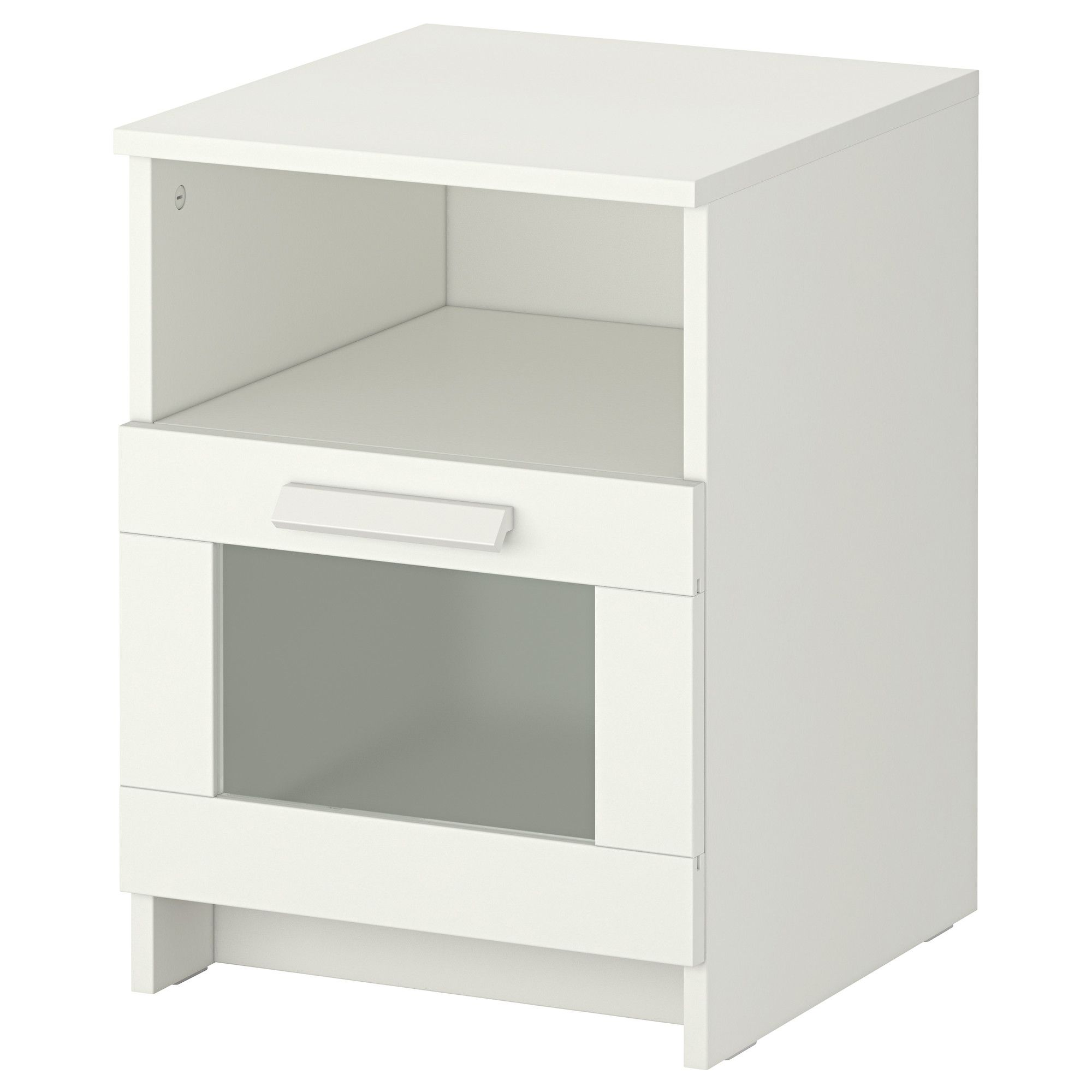 Brimnes Nightstand White 15 3 8x16 1 8 Bedside Table Ikea