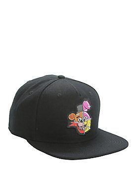 Five Nights At Freddy s Stitched Character s Snapback Hat  73a3e2d0a31d