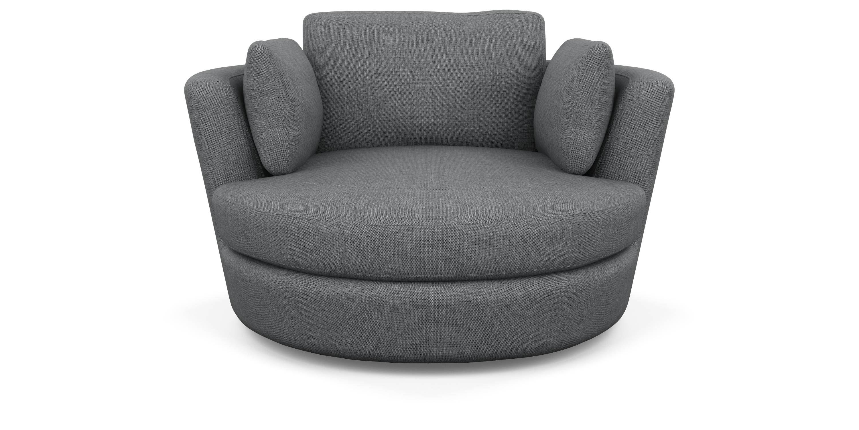 Fabulous Snuggle Chair Lounge Sofa Furniture Swivel Chair Bralicious Painted Fabric Chair Ideas Braliciousco