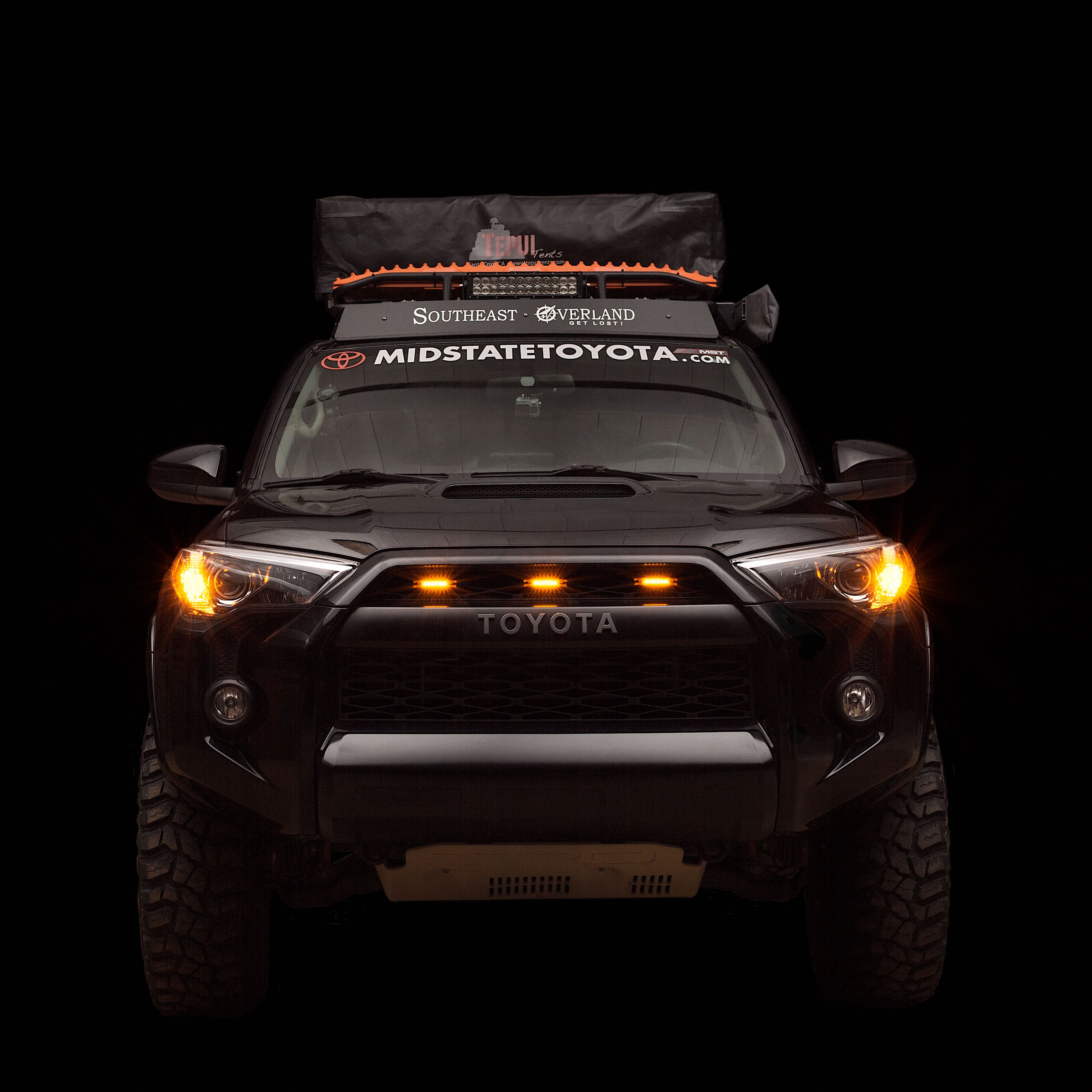 Here Is A Fun And Simple Mod That Adds A Bit Of Visual Appeal And Extra Visibility To The Front End Of Your Rig This Li Toyota 4runner Trd Trucks Only