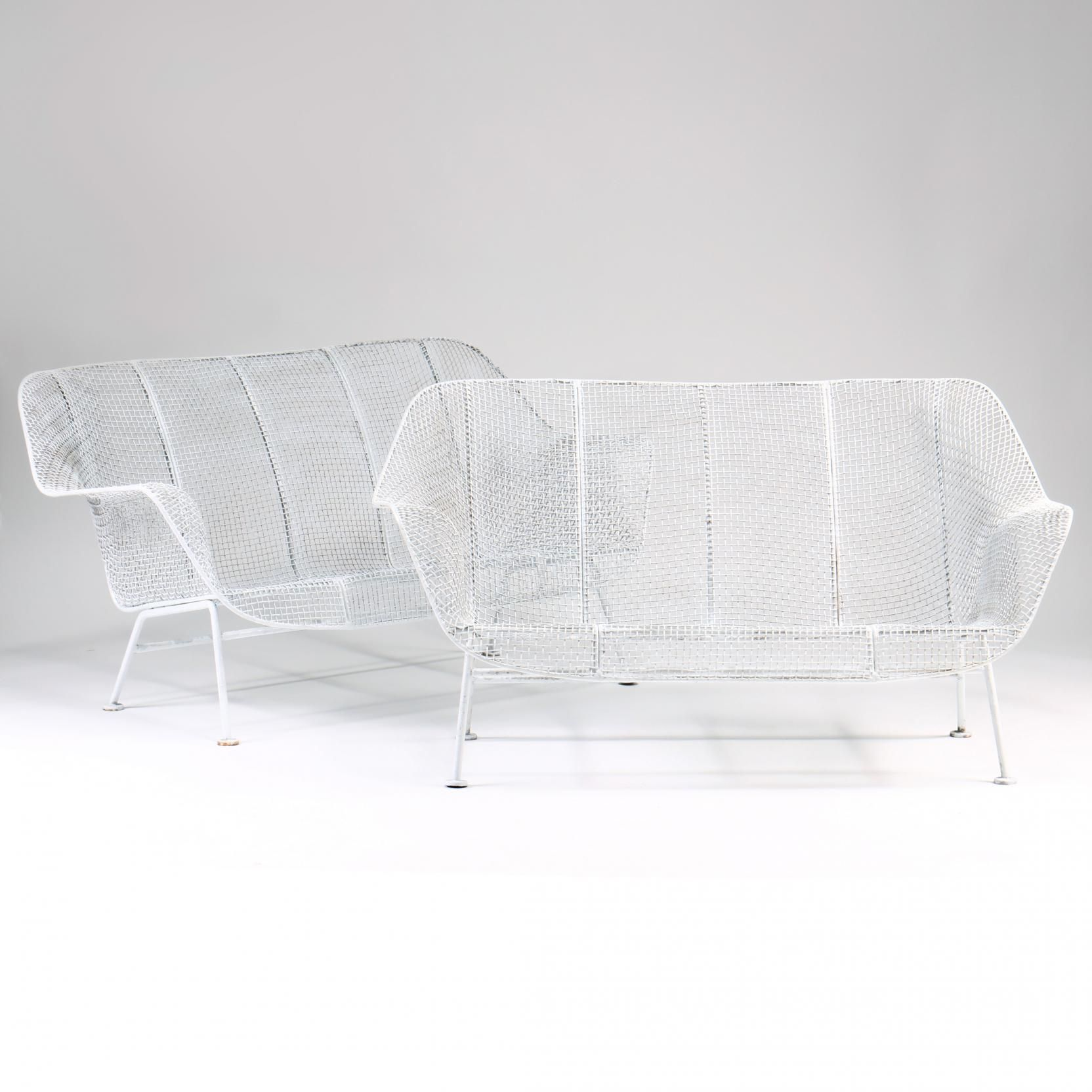 Russell Woodard, Sculptura Pair Of Settees