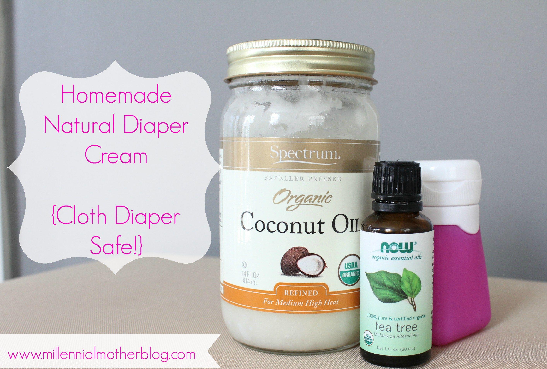 Homemade Natural Diaper Cream - DIY   Diaper cream ...