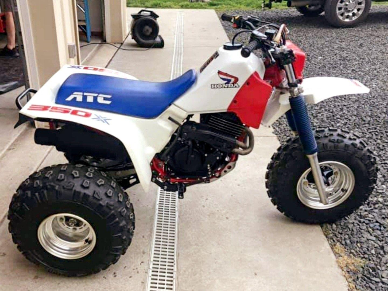 1986 Honda ATC350X Classic honda motorcycles, Honda
