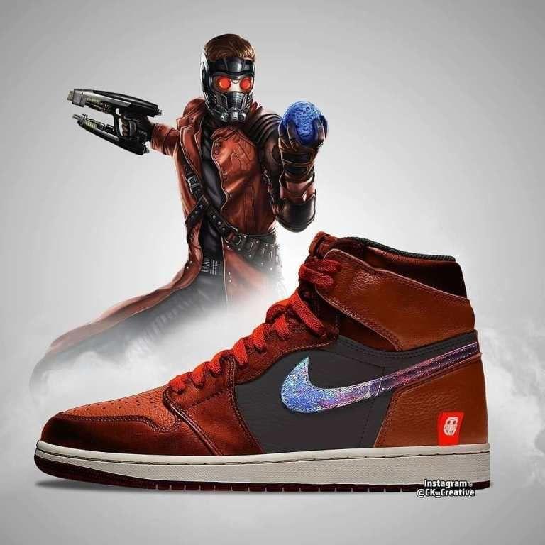 Avengers: Endgame Air Jordans Designs