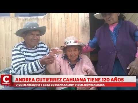 Andrea: la mujer más longeva vive en Arequipa (VIDEO) | Diario Correo