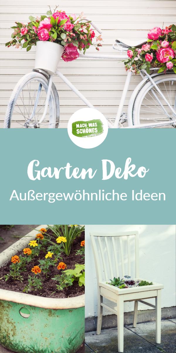 DIY Gartendeko selber machen - 8 Ideen