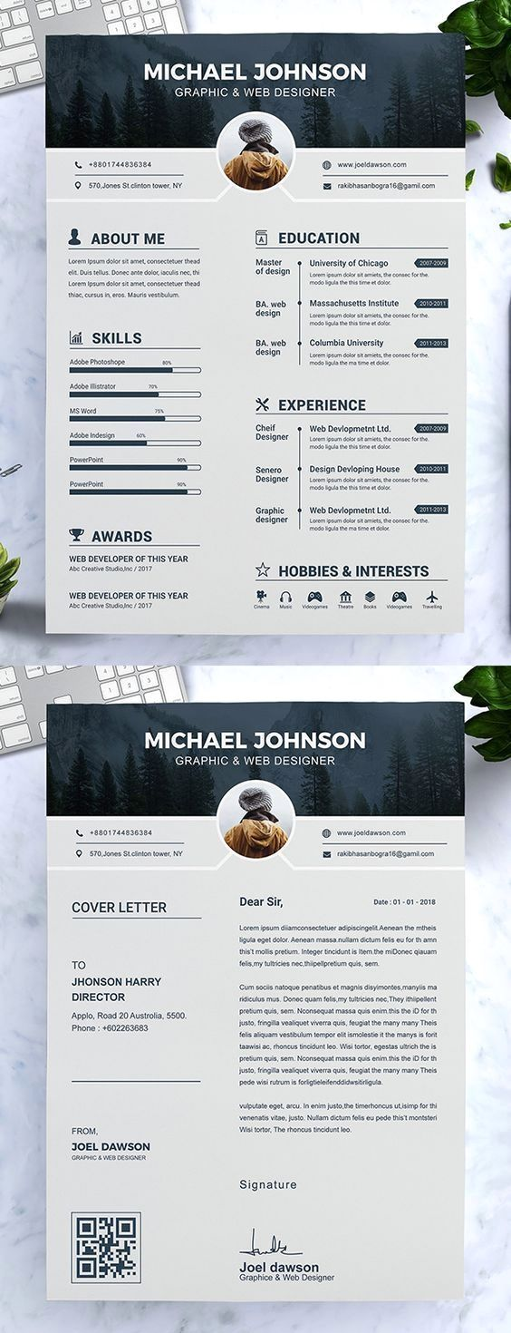 resume template with headshot photo + cover letter, 1 page lawn care job description for hotel group examples customer service responsibilities