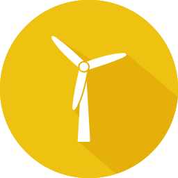 Wind Turbine Clean Renewable Energy Icon Clean Renewable Energy Renewable Energy Turbine