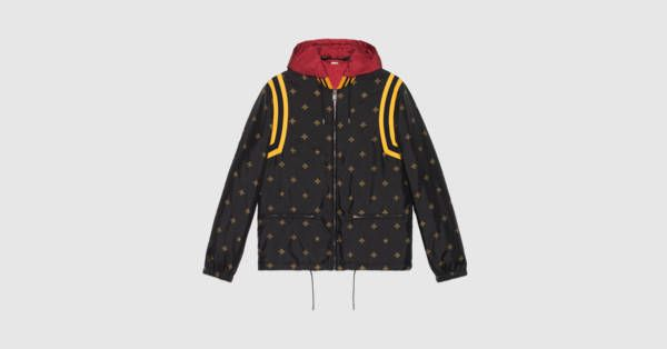 50c75efa9 Bee star jacquard nylon jacket by Gucci | WUHD Apparel | Jackets ...