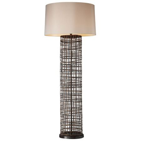 I pinned this sterling rattan floor lamp from the tropical oasis event at joss and main