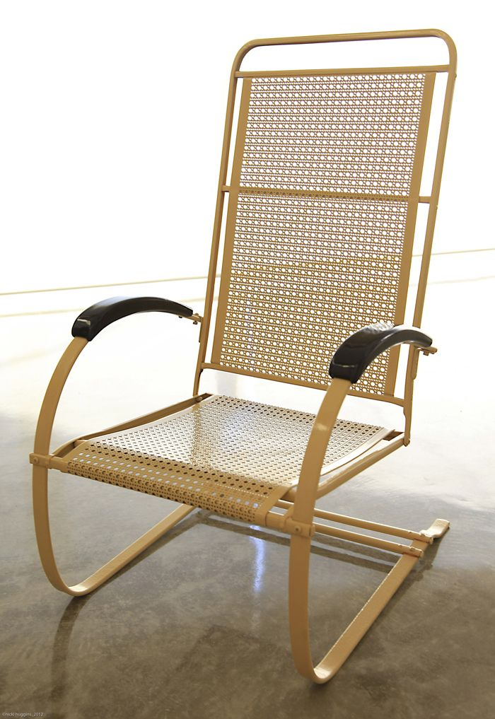 Astonishing Cane Punched Metal High Back Been Around Since 1937 Ibusinesslaw Wood Chair Design Ideas Ibusinesslaworg