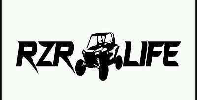 RZR Life Decal 14