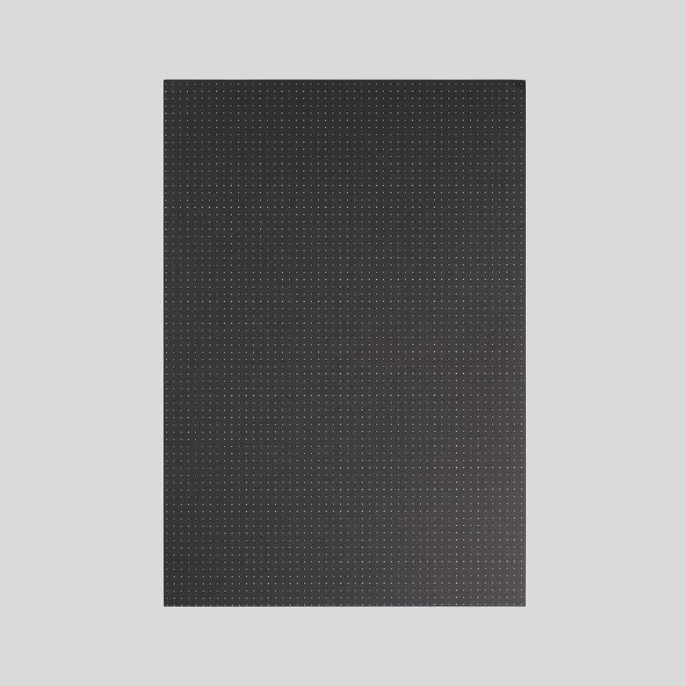 Black Dot Grid Loose Leaf Paper A3 A4 A5 A6 Grid Paper Black Dots Black Paper
