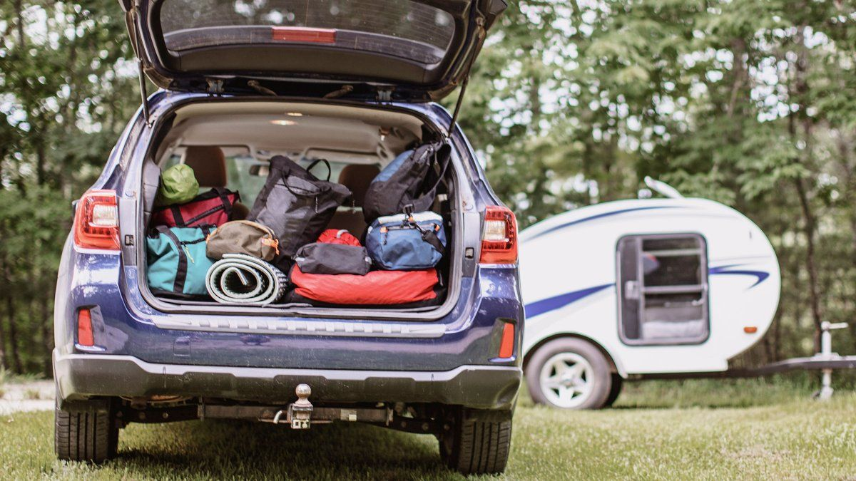 How To Set Up Your Subaru Outback For Car Camping Subaru Outback Car Camping Subaru Outback Accessories