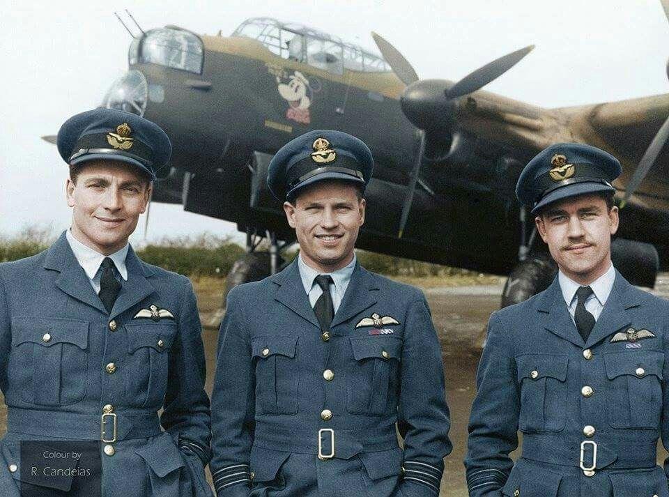 No 106 Sqdn W/C Guy Gibson par G. Marie Print Avro Lancaster Admiral Prune