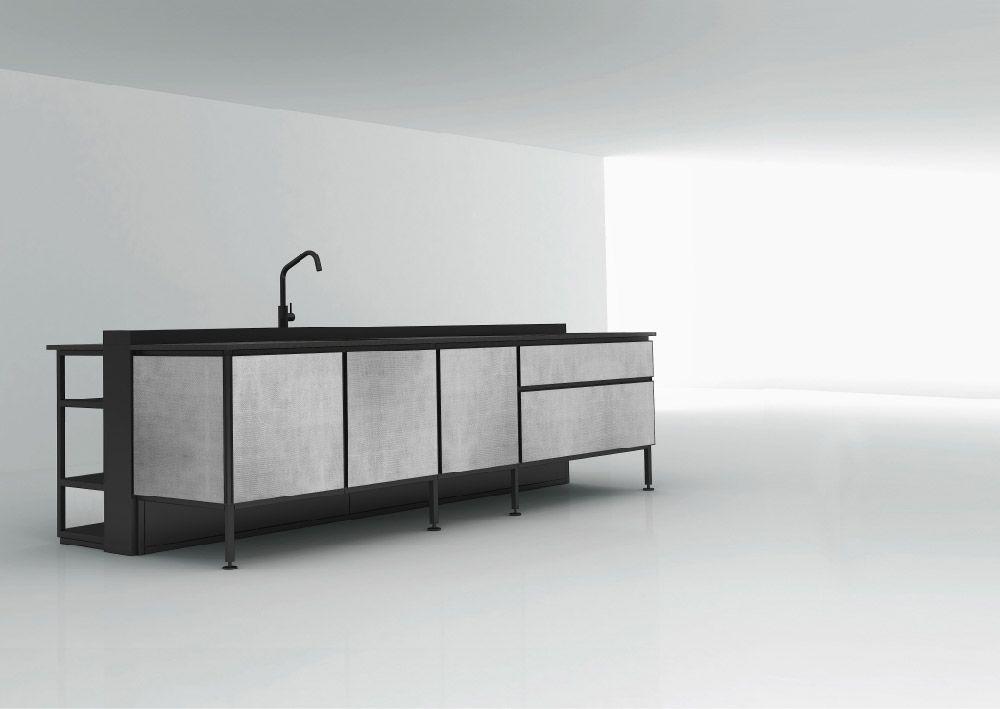Freistehende Küchen: Küche Salinas [b] von Boffi - kitchens   Küchen ...
