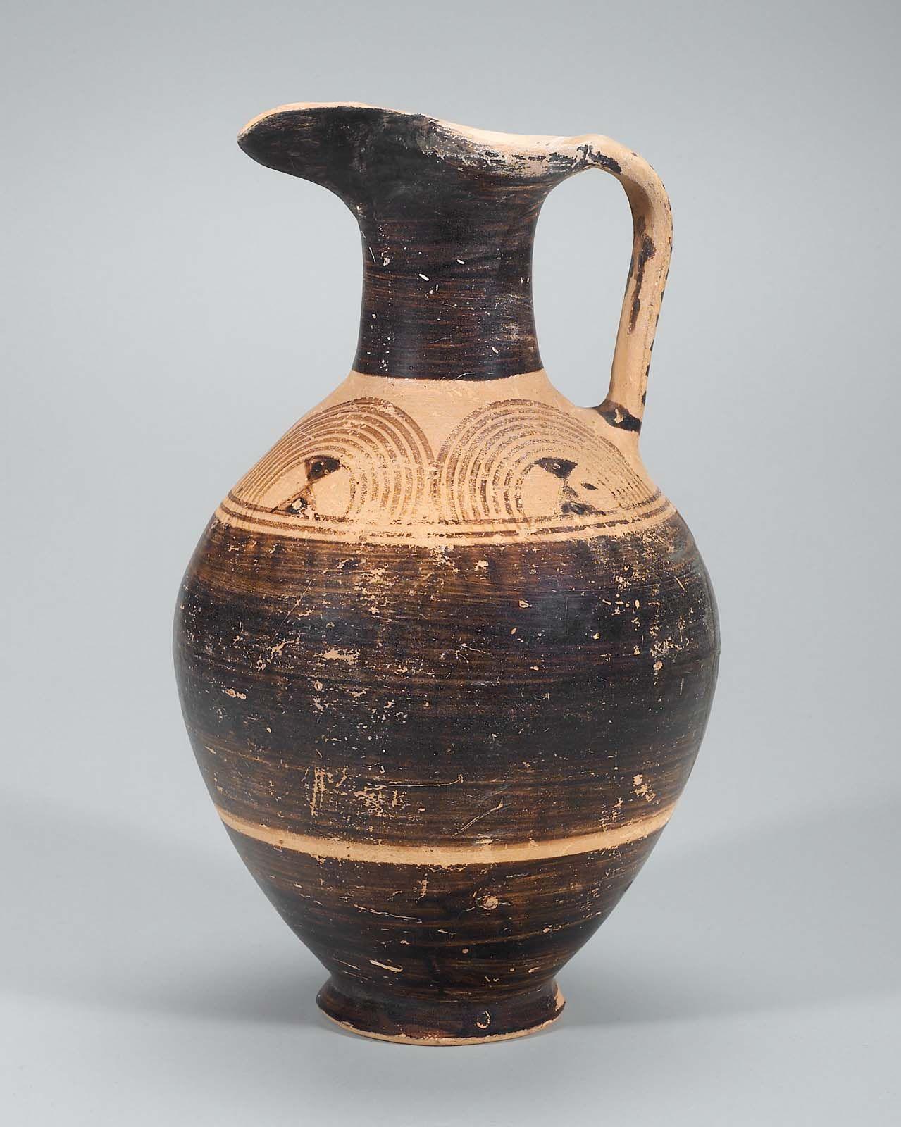 Pitcher Oinochoe Greek Protogeometric Period Abt 900