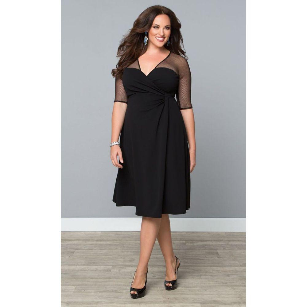 Find More Cocktail Dresses Information about Elegant Black Half ...
