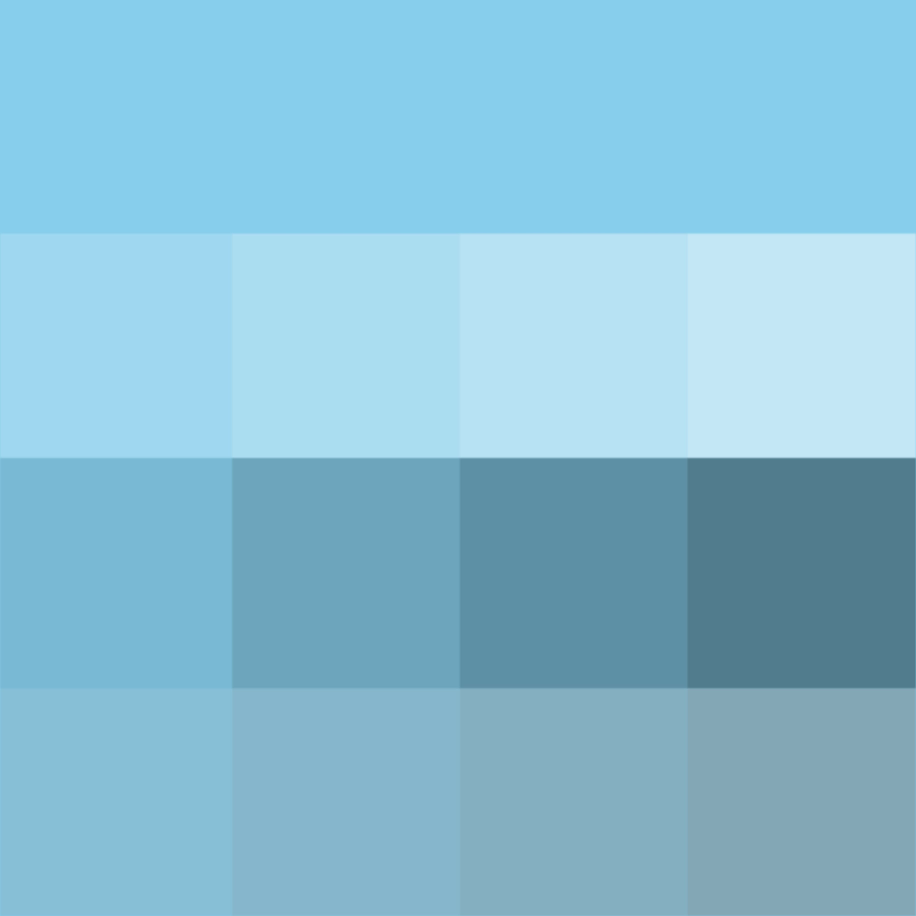 Pantone Sky Blue Hue Pure Color With Tints White Shades Black And Tones Grey Which Desaturates The Thd
