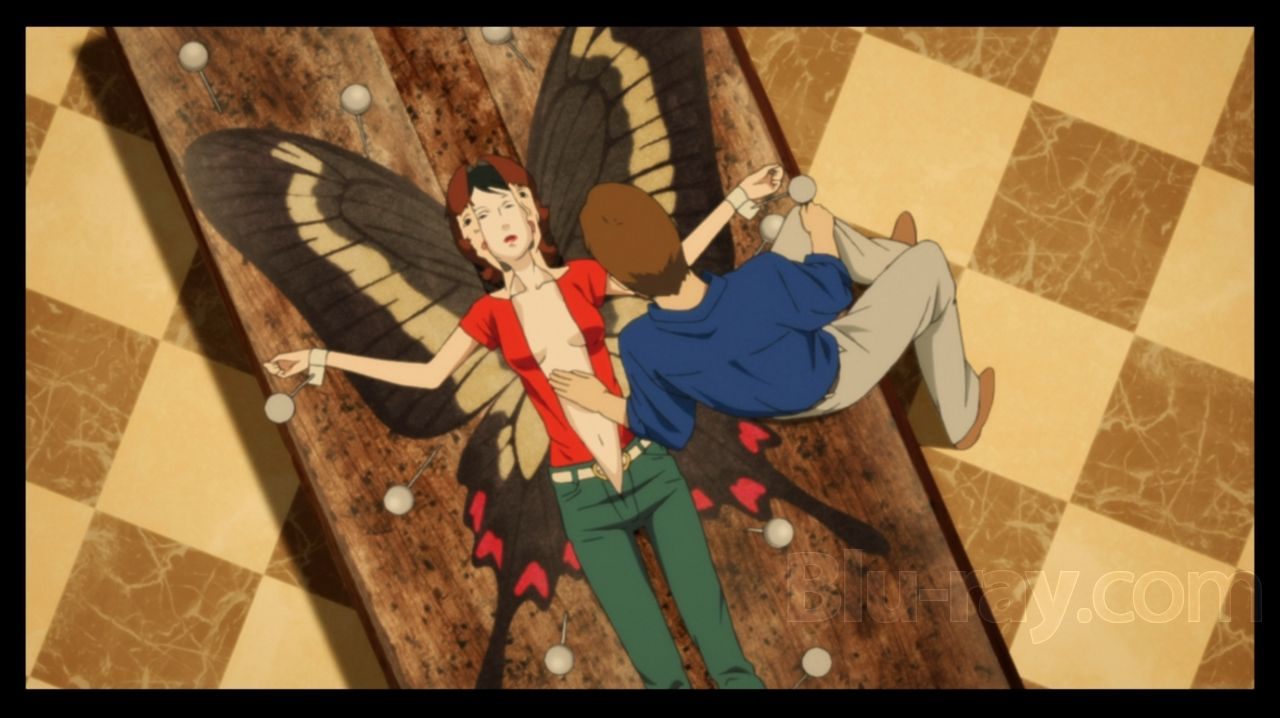 So Much Is Said In This Photo And This Part Of The Movie 3 In 2021 Anime Butterfly Anime Movies Anime