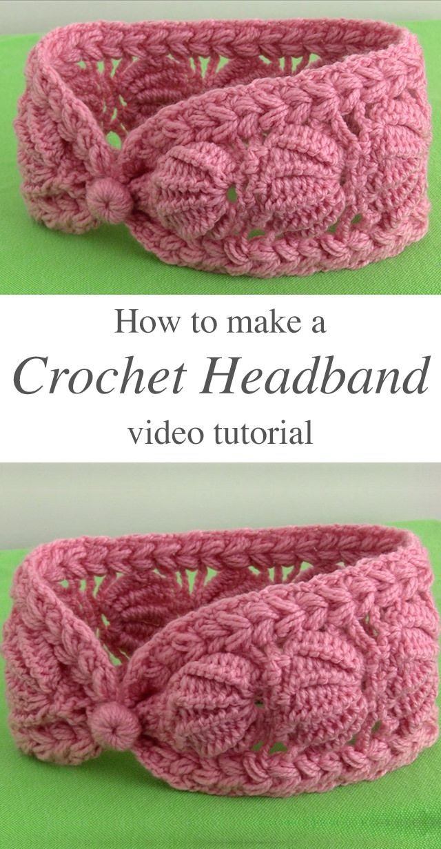 How To Crochet A Headband Easily | CrochetBeja
