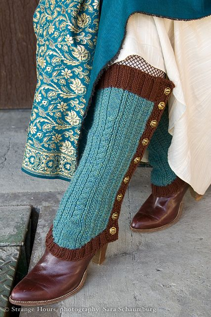 I\'ve been thinking about making legwarmers lately, and ... well, I ...