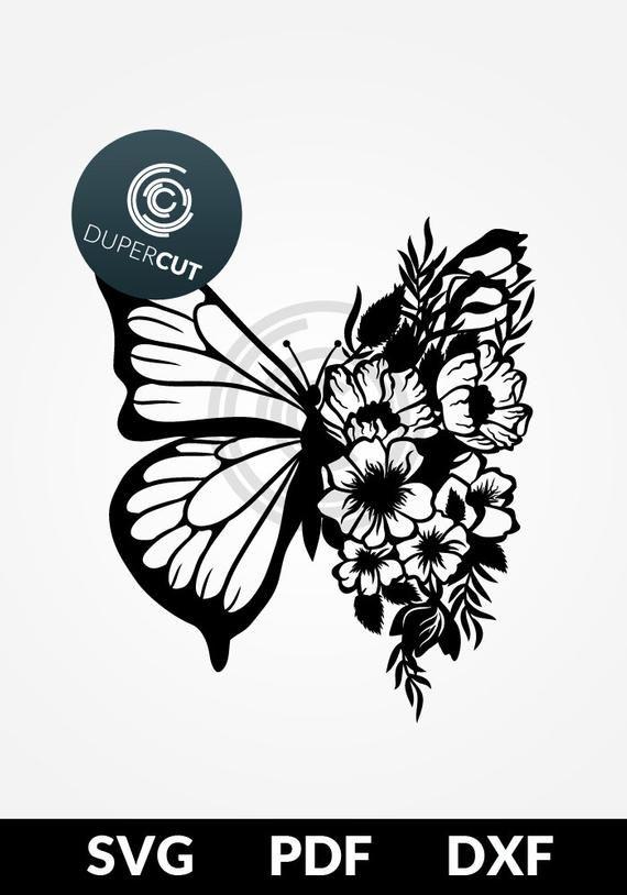 245+ Free Svg Butterfly Mandala Svg – SVG,PNG,DXF,EPS include