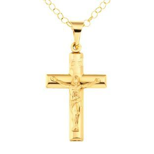 Buy 9ct gold crucifix pendant at argos your online shop for buy 9ct gold crucifix pendant at argos your online shop for aloadofball Gallery