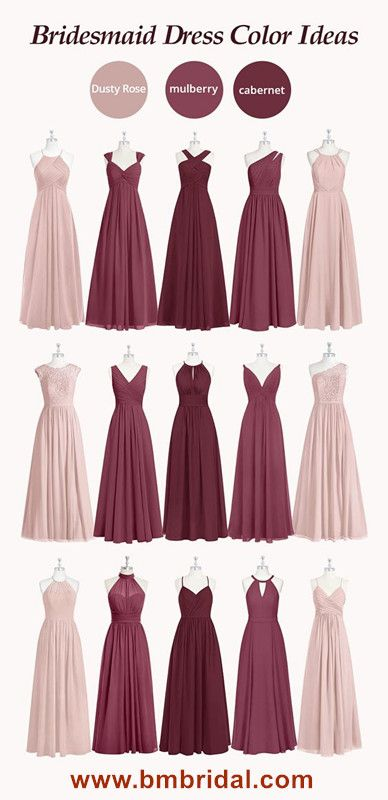 Hot Sale Chiffon Bridesmaid Dresses Online