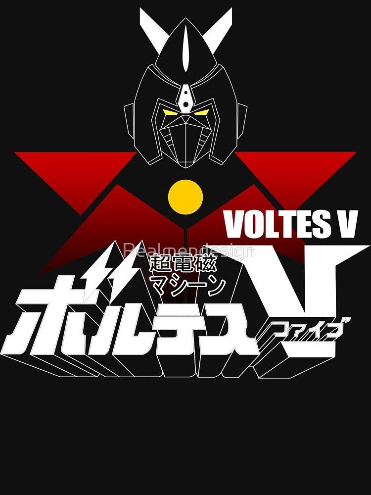 Japan Voltes V T Shirt By Realmendesign Gundam Art