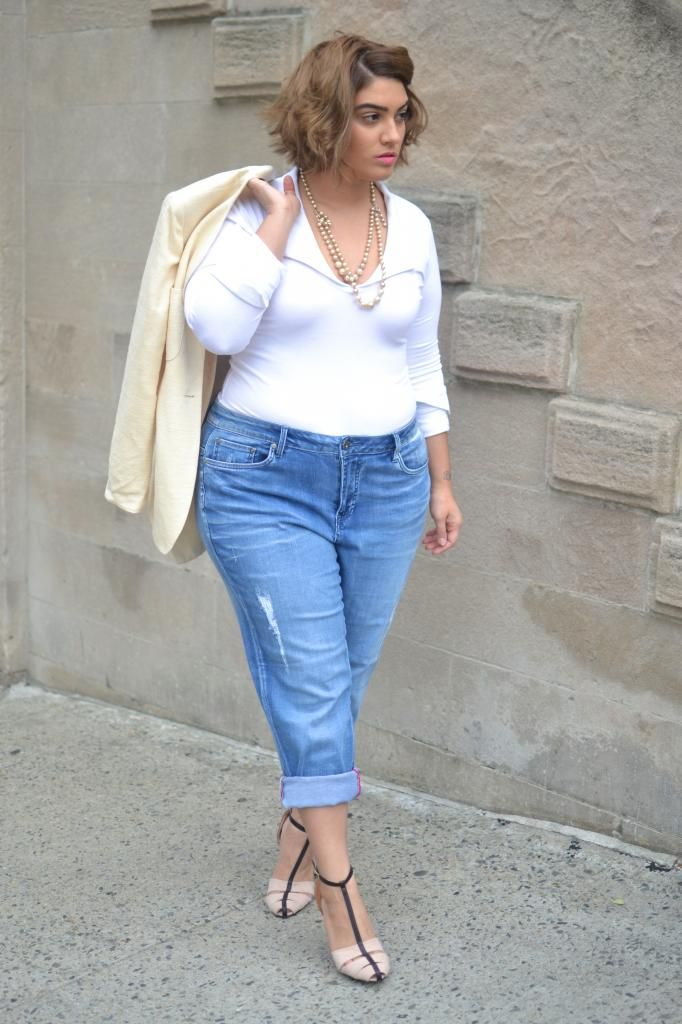 nadia aboulhosn: Boyfriend Jeans and a Bodysuit ...