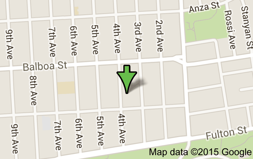 Map of 668 4th Ave, San Francisco, CA 94118 Gracie Allen Home ...  Th Street San Francisco Map on 9th street tijuana, 9th street green bay, 9th street durham, 9th street corpus christi, washington square park san francisco, broadway san francisco,