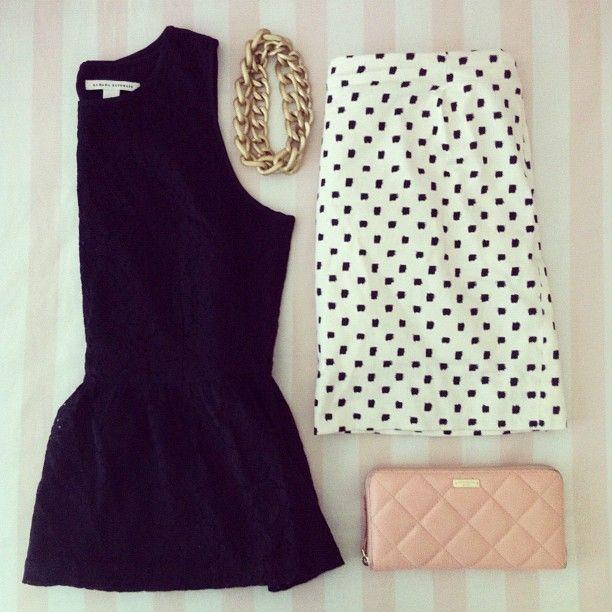 97dff706f8 Coge ideas para poner a la venta tu ropa en chicfy. Look  peplum ...